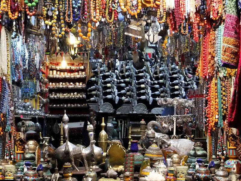 Arabischer Basar oder 'suuq'