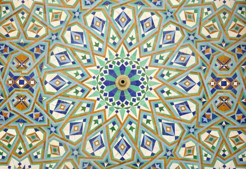 Islamische geometrische Muster